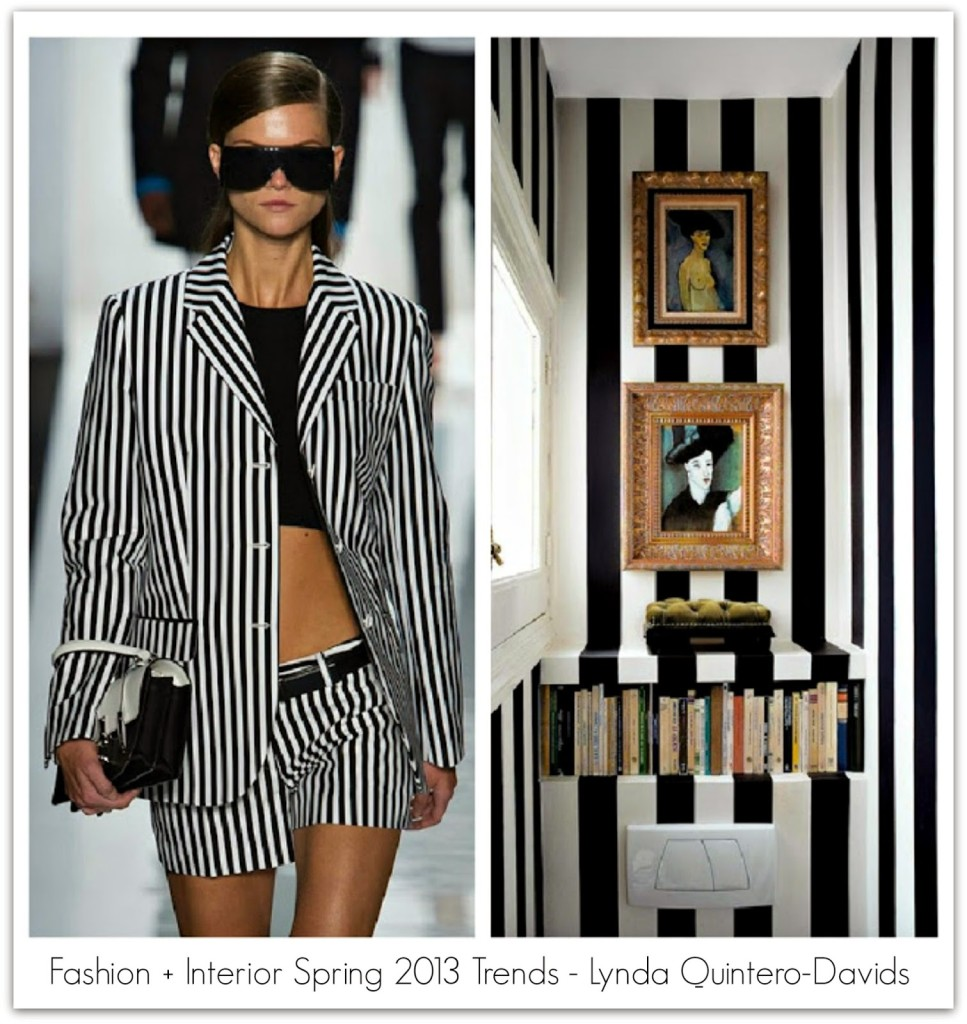 FASHION DECOR TRENDS - STRIPES - Lynda Quintero-Davids - Focal Point Styling
