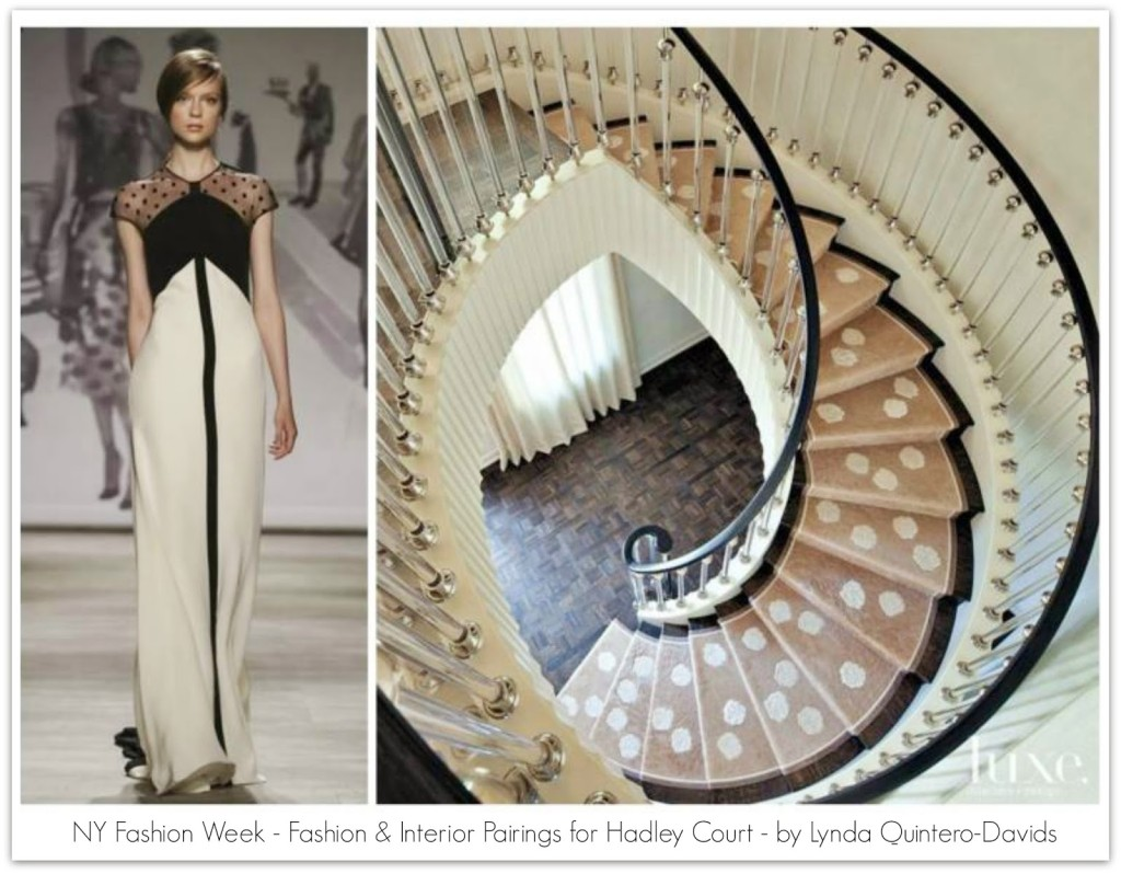FASHION WEEK - FASHION DECOR PAIRINGS - Lynda Quintero-Davids for Hadley Court ss2015