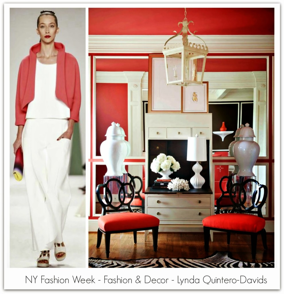 NY FASHION WEEK - FASHION DECOR - Lynda Quintero-Davids ss2015