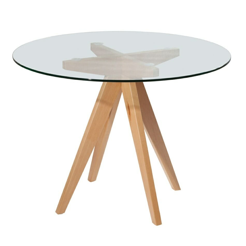 Prouve Round Dining Table Living Edge