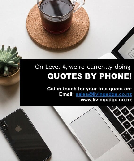 LOCKDOWN LEVEL 4 NEWS - WE'RE DOING QUOTES BY PHONE